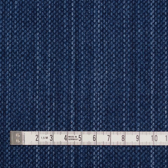 コットン×無地(インディゴブルー)×刺し子 イメージ4