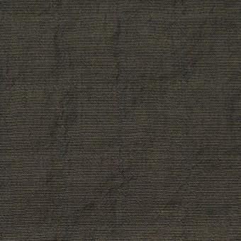 コットン&テンセル混×無地(オリーブグリーン)×シャンブレーボイル