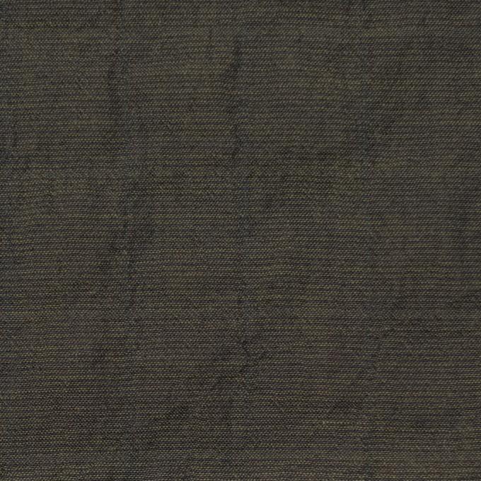 コットン&テンセル混×無地(オリーブグリーン)×シャンブレーボイル イメージ1