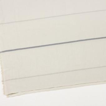 レーヨン&ポリエステル×ボーダー(アイボリー)×かわり織ジャガード_全2色 サムネイル2