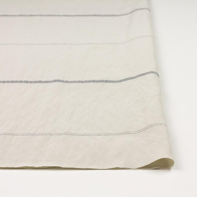レーヨン&ポリエステル×ボーダー(アイボリー)×かわり織ジャガード_全2色 イメージ3