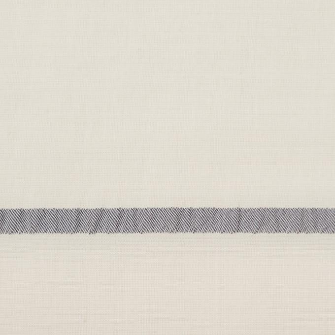 レーヨン&ポリエステル×ボーダー(アイボリー)×かわり織ジャガード_全2色 イメージ1