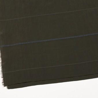 レーヨン&ポリエステル×ボーダー(オリーブグリーン)×かわり織ジャガード_全2色 サムネイル2