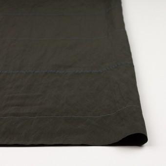 レーヨン&ポリエステル×ボーダー(オリーブグリーン)×かわり織ジャガード_全2色 サムネイル3