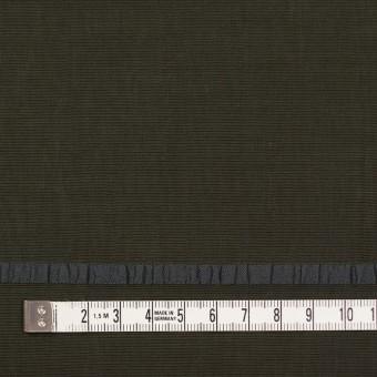 レーヨン&ポリエステル×ボーダー(オリーブグリーン)×かわり織ジャガード_全2色 サムネイル4