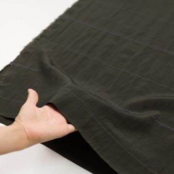 レーヨン&ポリエステル×ボーダー(オリーブグリーン)×かわり織ジャガード_全2色 サムネイル5