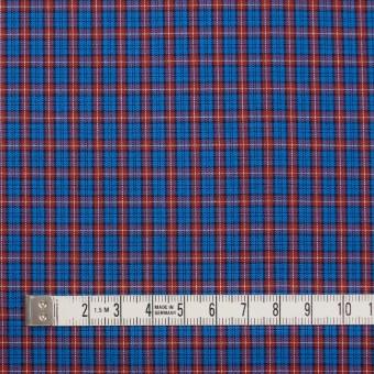 コットン×チェック(エンジ&ブルー)×キャンブリック サムネイル4