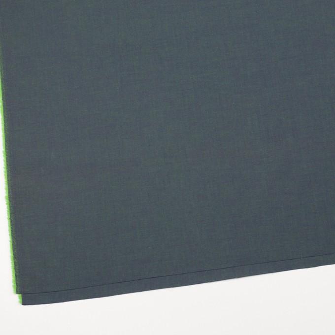 コットン×無地(メドウグリーン)×シャンブレー_全2色 イメージ2