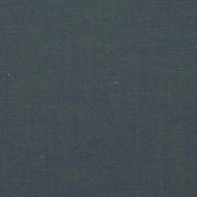 コットン×無地(メドウグリーン)×シャンブレー_全2色 イメージ1