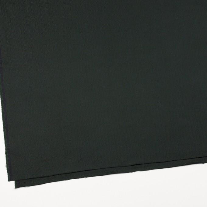 コットン×無地(ディープグリーン)×ヘリンボーン イメージ2