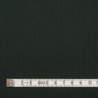 コットン×無地(ディープグリーン)×ヘリンボーン サムネイル4