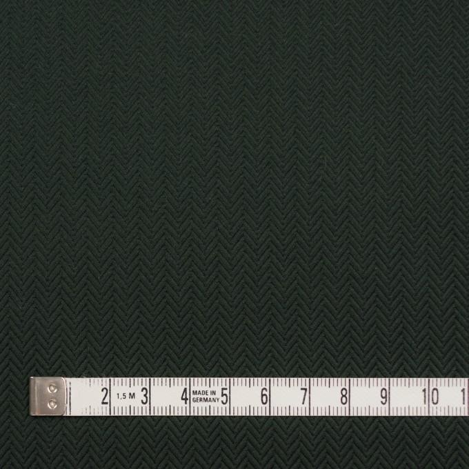 コットン×無地(ディープグリーン)×ヘリンボーン イメージ4