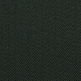 コットン×無地(ディープグリーン)×ヘリンボーン