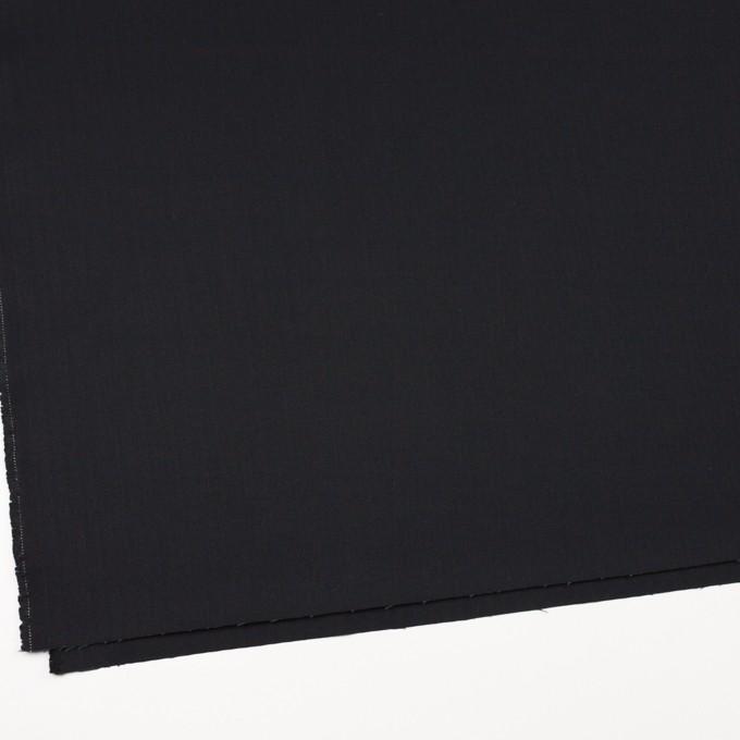 コットン×無地(ブラック)×ヘリンボーン イメージ2