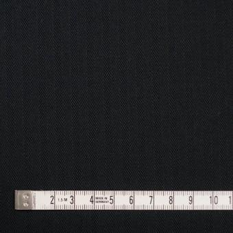コットン×無地(ブラック)×ヘリンボーン サムネイル4