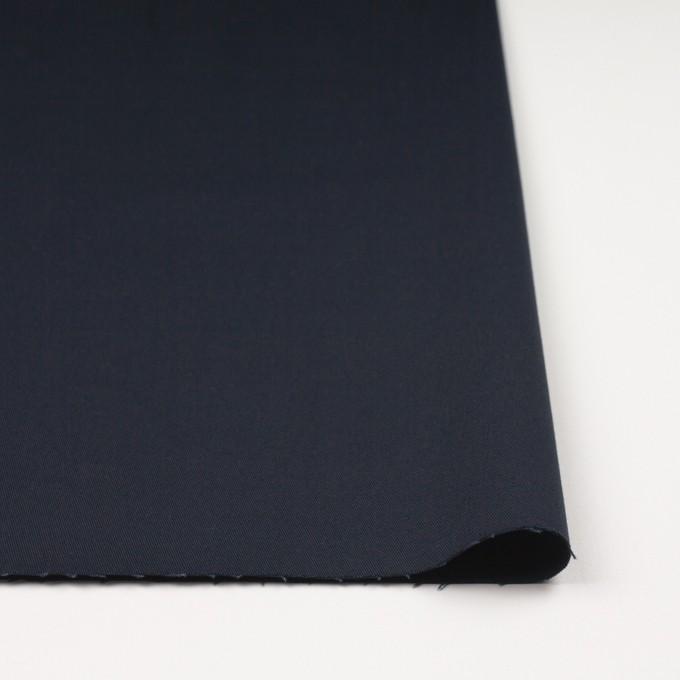 コットン×無地(ダークネイビー)×チノクロス・ストレッチ イメージ3