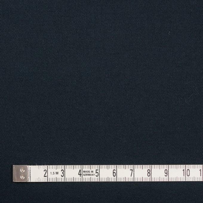 コットン×無地(ダークネイビー)×チノクロス・ストレッチ イメージ4