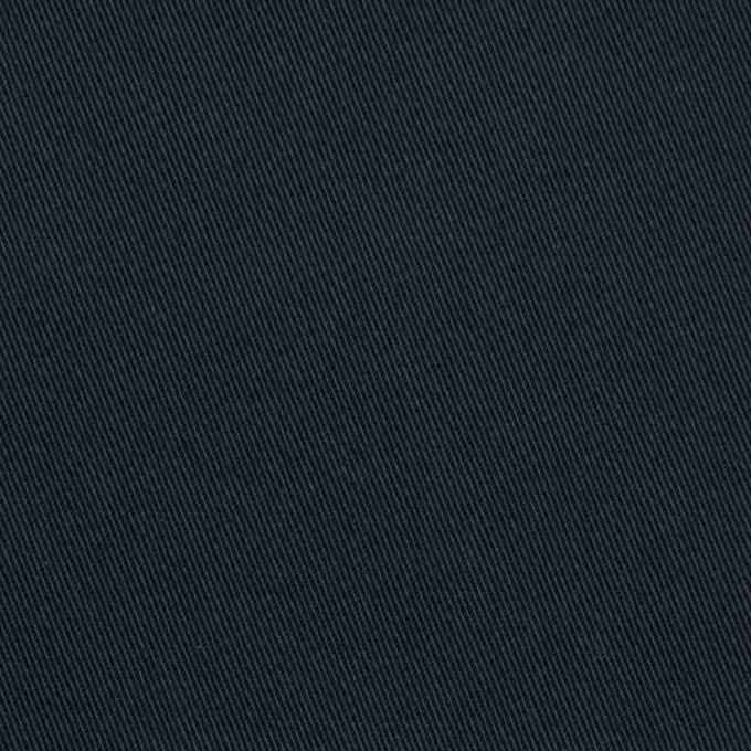 コットン×無地(ダークネイビー)×チノクロス・ストレッチ イメージ1