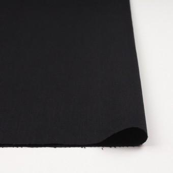 コットン×無地(ブラック)×カツラギ サムネイル3