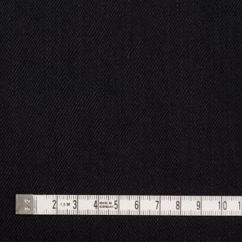 コットン×無地(ブラック)×カツラギ サムネイル4