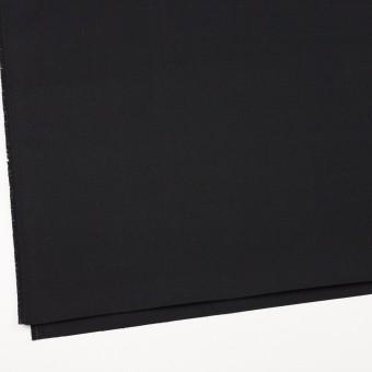 コットン×無地(ブラック)×厚サージ サムネイル2