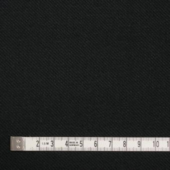 コットン×無地(ブラック)×厚サージ サムネイル4