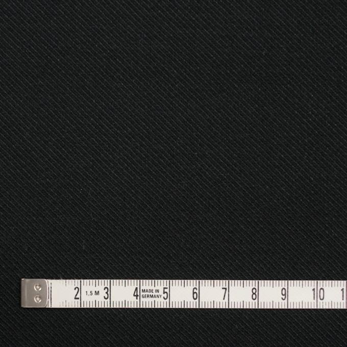 コットン×無地(ブラック)×厚サージ イメージ4