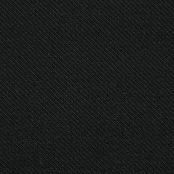 コットン×無地(ブラック)×厚サージ