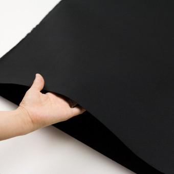 コットン×無地(ブラック)×厚サージ サムネイル5