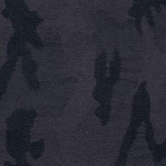 ナイロン&コットン混×幾何学模様(ダークレーズン)×ジャガードストレッチ