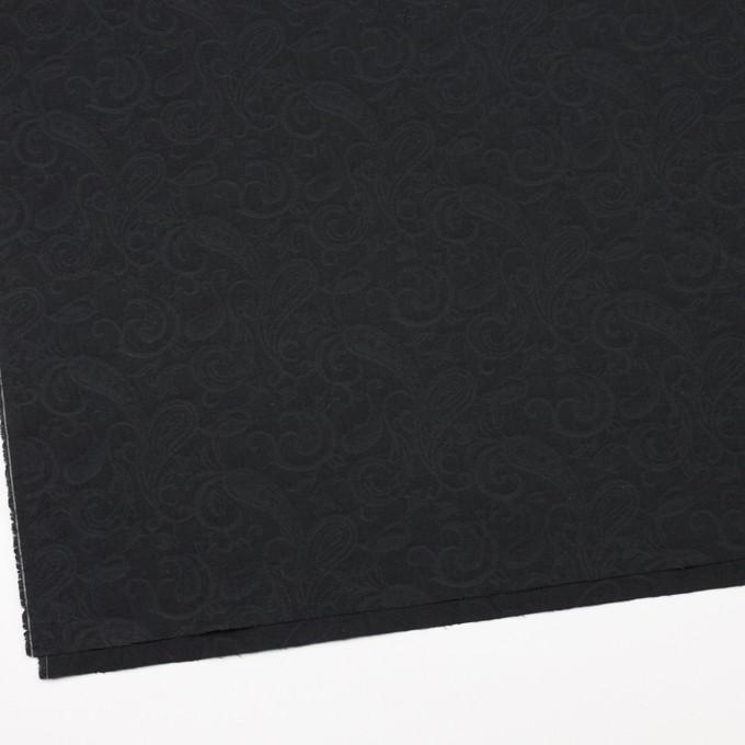 コットン×ペイズリー(チャコールブラック)×ジャガード イメージ2