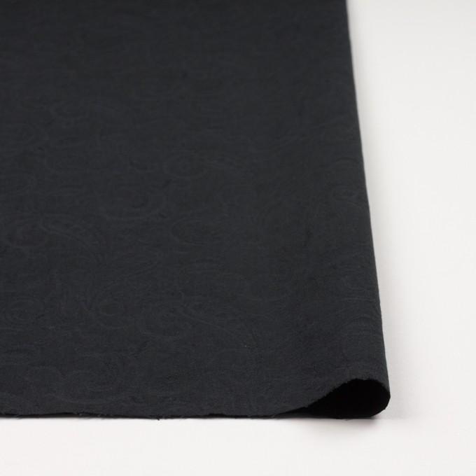 コットン×ペイズリー(チャコールブラック)×ジャガード イメージ3