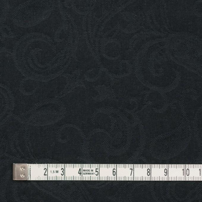 コットン×ペイズリー(チャコールブラック)×ジャガード イメージ4
