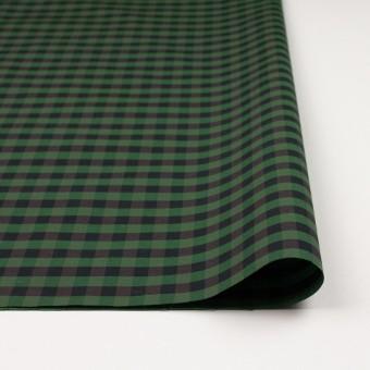 コットン&ポリエステル×チェック(メドウグリーン)×形状記憶タフタ_全4色 サムネイル3