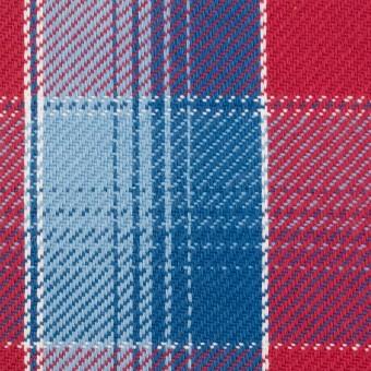 コットン×チェック(レッド&サックス、ネイビーブルー)×ビエラ_全3色