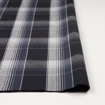 コットン×チェック(ブラック&ライトグレー、アイアンネイビー)×ビエラ_全3色 サムネイル3