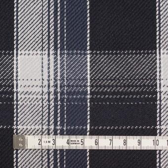 コットン×チェック(ブラック&ライトグレー、アイアンネイビー)×ビエラ_全3色 サムネイル4
