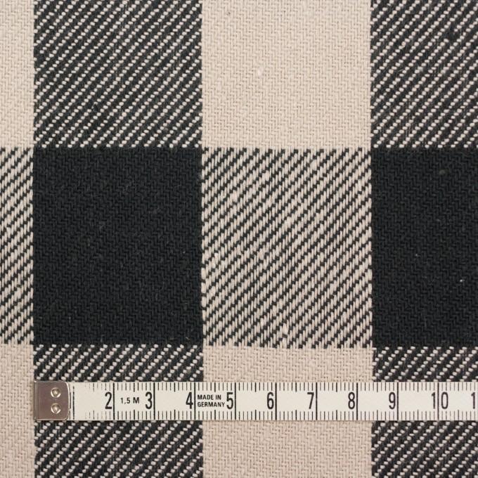 コットン×チェック(アイボリー&ブラック)×ビエラ_全3色 イメージ4