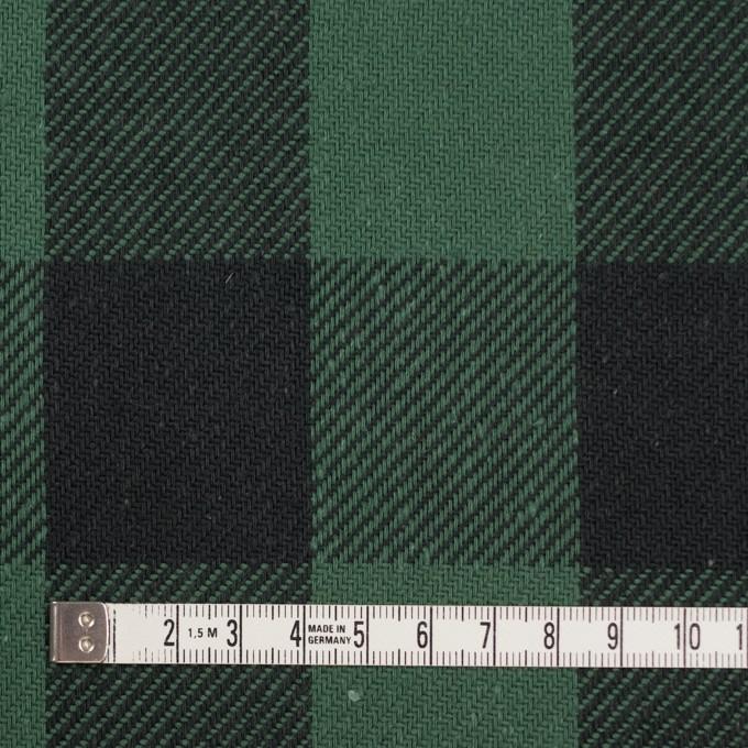 コットン×チェック(ホーリーグリーン&ブラック)×ビエラ_全3色 イメージ4