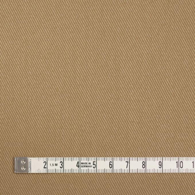 リネン&コットン×無地(カーキベージュ)×サージ イメージ4