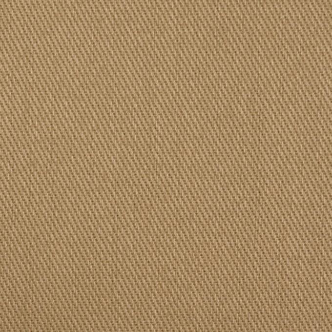 リネン&コットン×無地(カーキベージュ)×サージ イメージ1