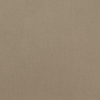 コットン&ポリウレタン×無地(カーキ)×ギャバジンストレッチ サムネイル1