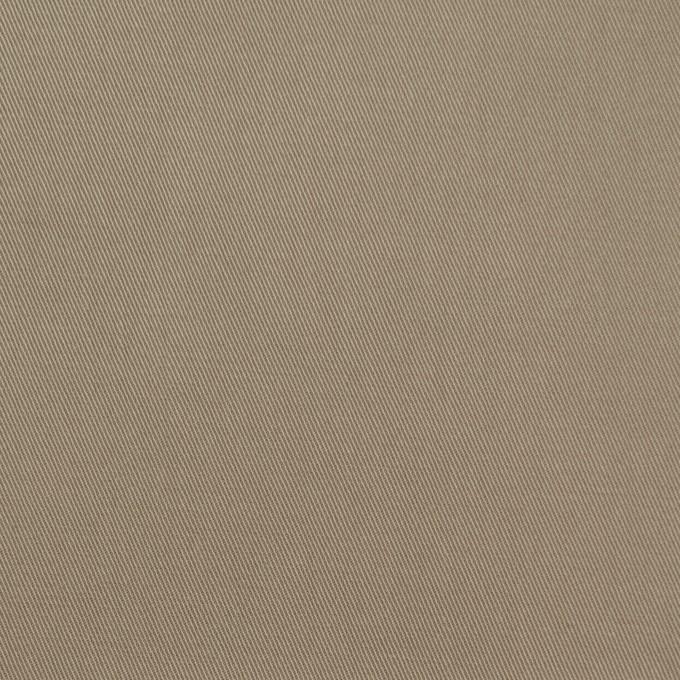 コットン&ポリウレタン×無地(カーキ)×ギャバジンストレッチ イメージ1