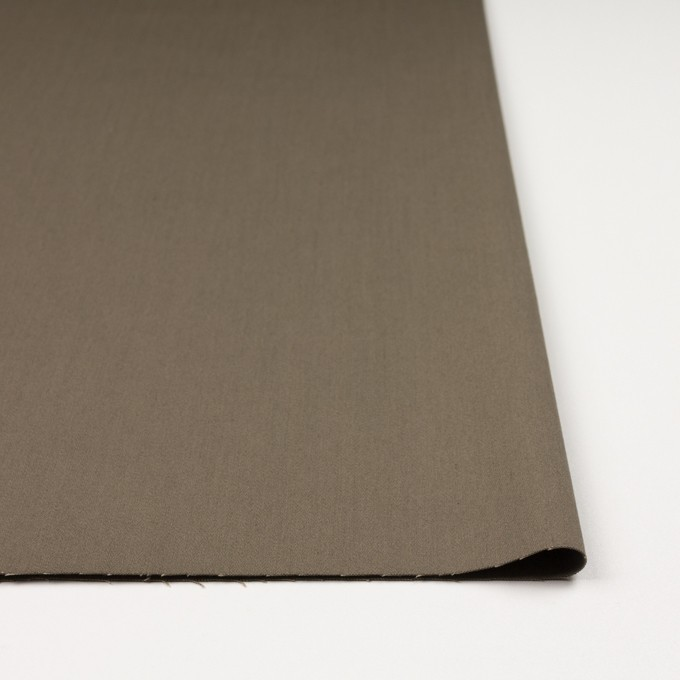 コットン&ポリウレタン×無地(カーキ)×チノクロス・ストレッチ イメージ3