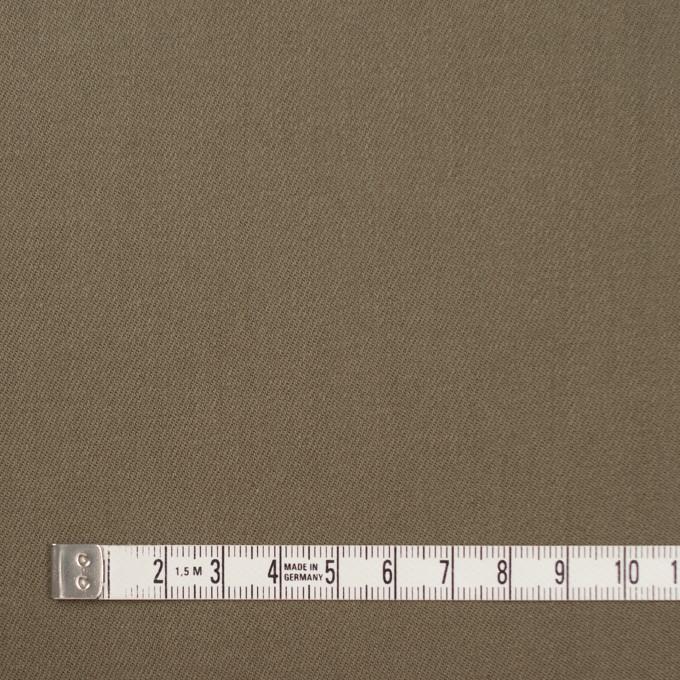 コットン&ポリウレタン×無地(カーキ)×チノクロス・ストレッチ イメージ4