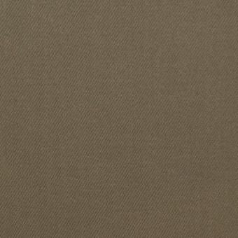 コットン&ポリウレタン×無地(カーキ)×サテンストレッチ サムネイル1