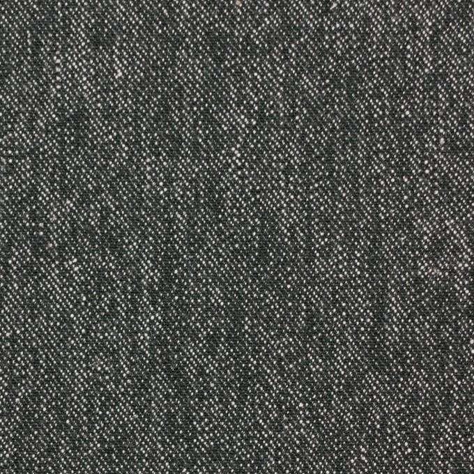 コットン×無地(チャコールグレー)×デニム イメージ1