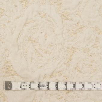 ポリエステル&アクリル混×幾何学模様(アイボリー)×フクレジャガード サムネイル4