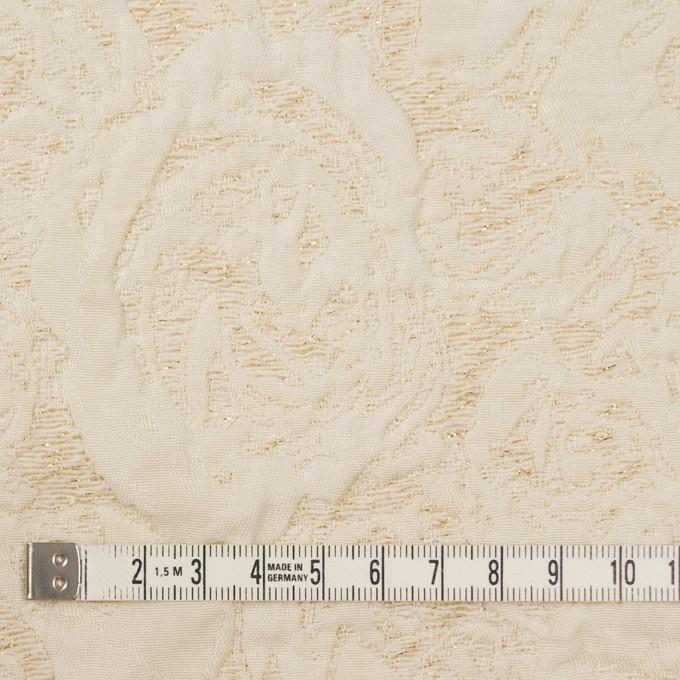 ポリエステル&アクリル混×幾何学模様(アイボリー)×フクレジャガード イメージ4