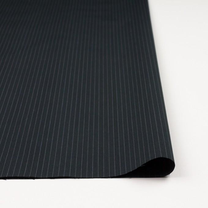 コットン×ストライプ(チャコールブラック)×ブロード イメージ3